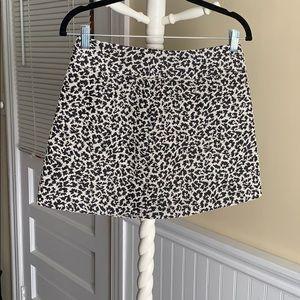 Forever 21 Leopard Print Mini Skirt